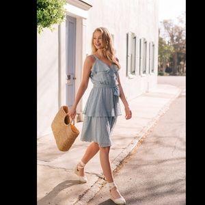 NWT Gal Meets Glam Helena Dress Size 6 D1